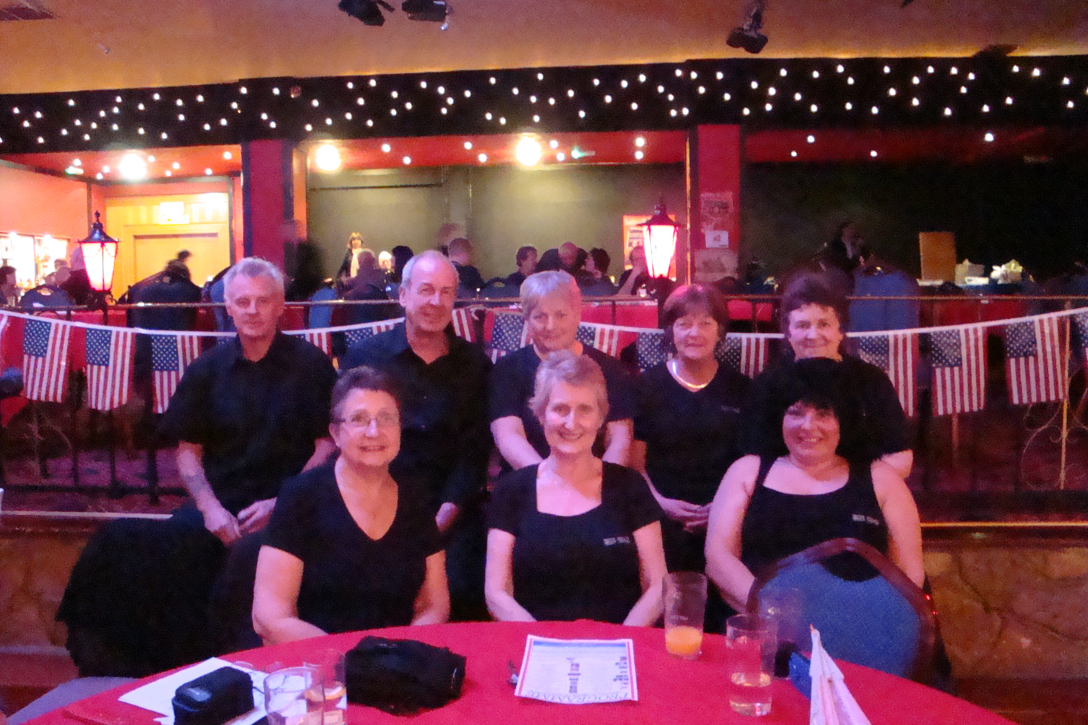 Dixie Belles at Lakeside, Frimley Green, April 2013