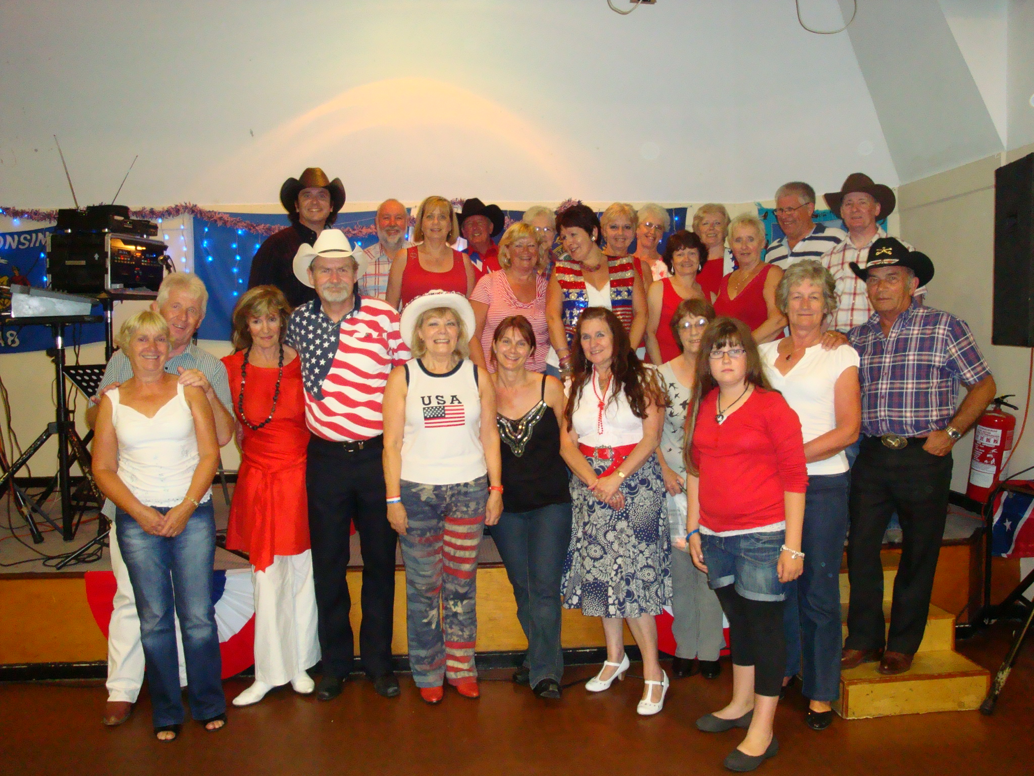 Dixie Belles with Bobby D Sawyer July 2010